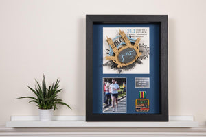 London Marathon Memorabilia 3D Art