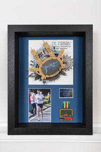 London Marathon Memorabilia 3D Art Frame