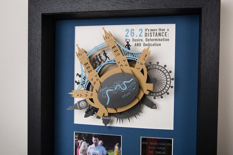 London Marathon 3D Art