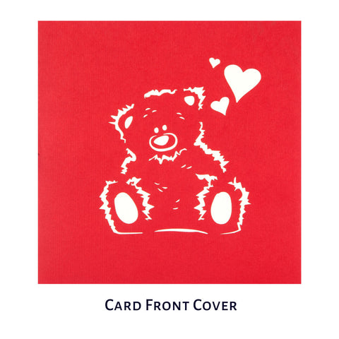 Love Bear Pop Up Card
