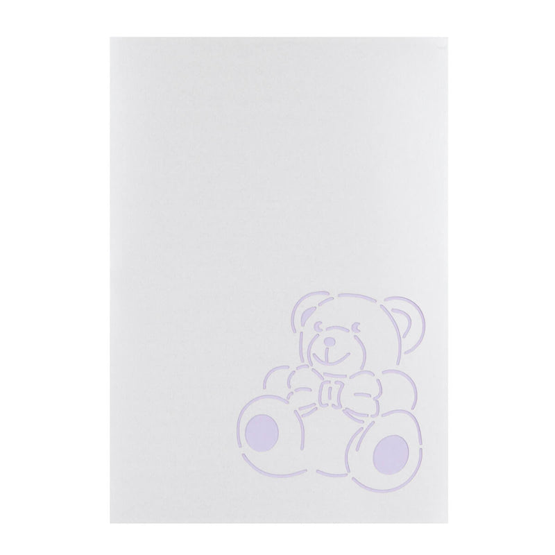 new baby congratulations pop up card cover image