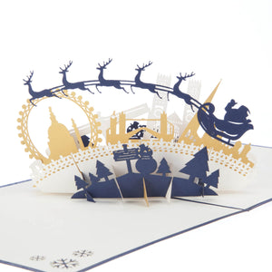 Night Before Christmas Pop Up Card