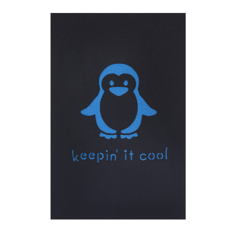 Penguin Pop Up Birthday Card Cover which reads