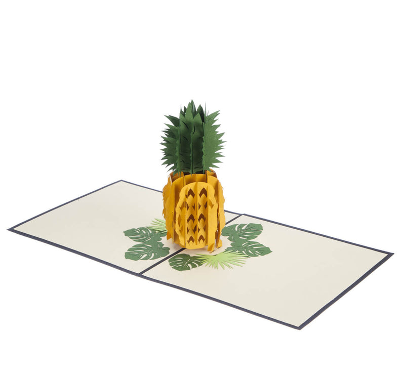 Pineapple Pop Up Card