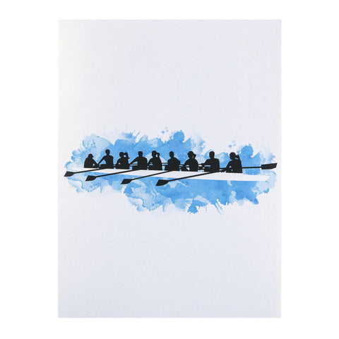 Rowing Pop Up Card