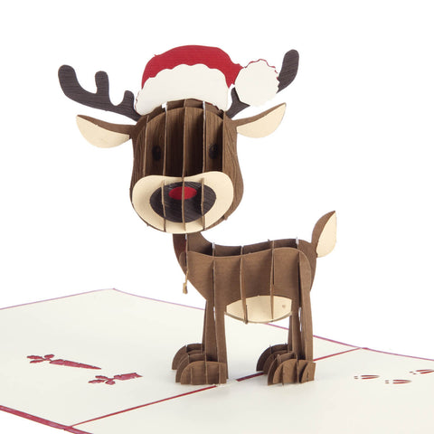 Reindeer Pop Up Card