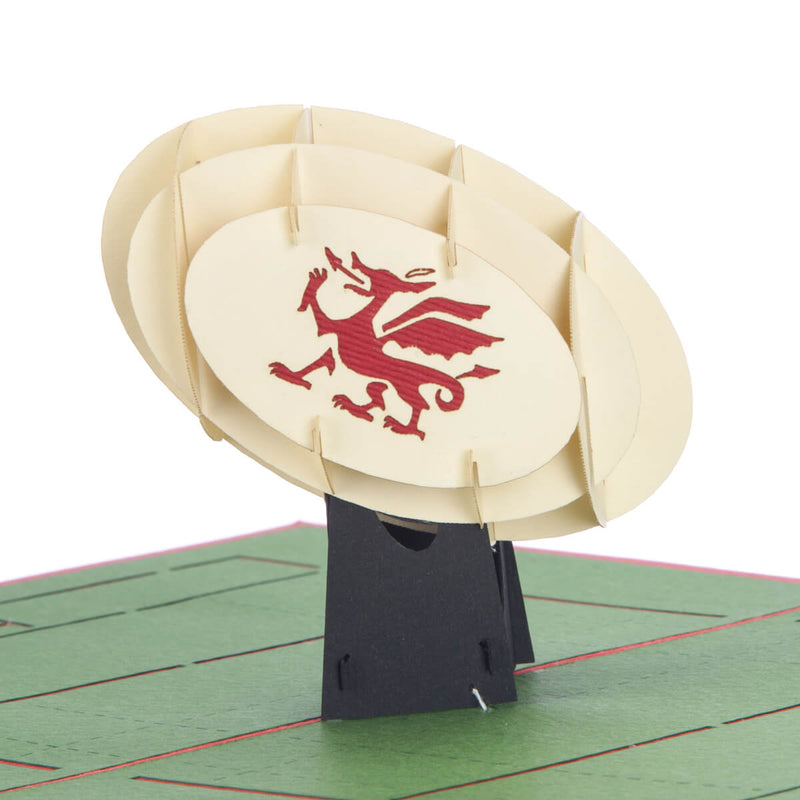 Welsh Rugby Pop Up Card