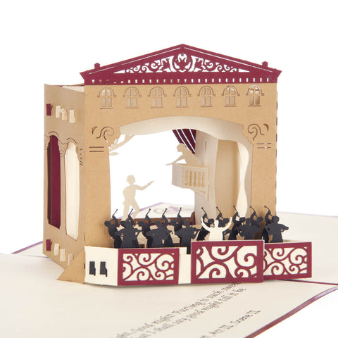 Romeo and Juliet Pop Up Card
