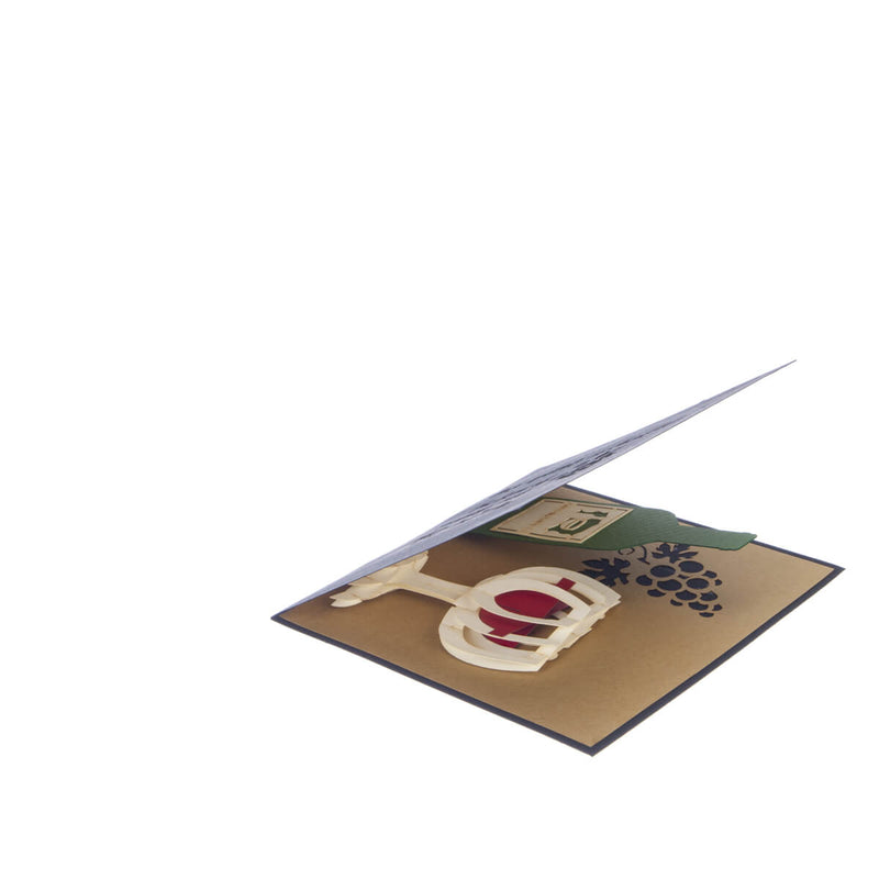 Wine Pop Up Card