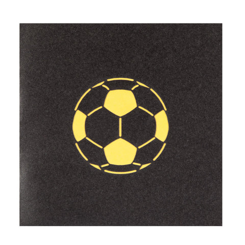 Womens Football Pop Up Card