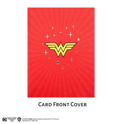 Wonder Woman Pop Up Card
