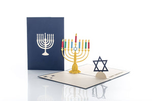 Hanukkah Pop Up Card