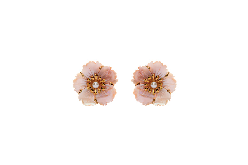 Blakely Earrings Pink