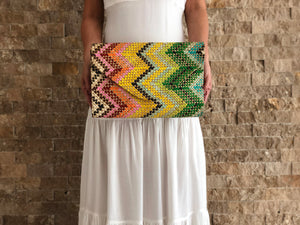 Sunrise Envelope Clutch