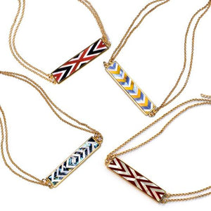 Valyn Necklace Chevron