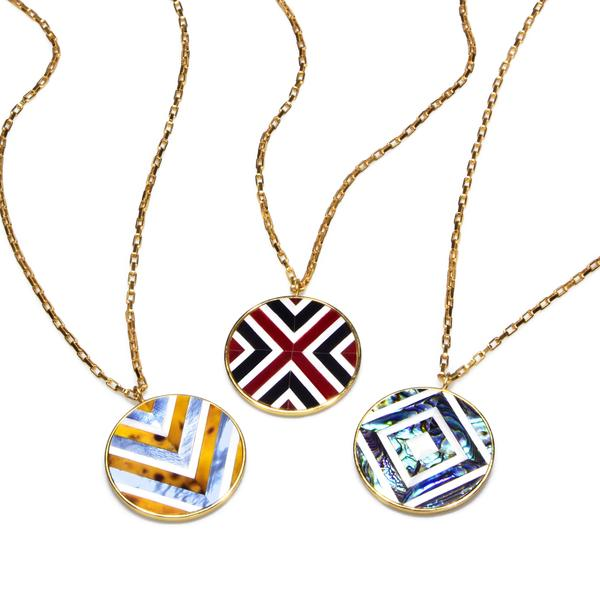 Selene Necklace Chevron