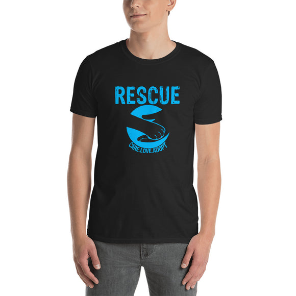 Rescue- Care. Love. Adopt T-shirt