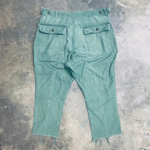 Load image into Gallery viewer, VINTAGE MILITARY TROUSERS PANTS