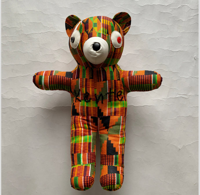 MOOKEE BEAR Kente