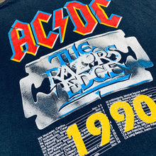 Load image into Gallery viewer, 1990 VINTAGE ACDC TEE
