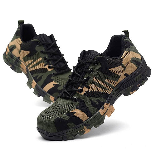 Camouflage Safety Boots