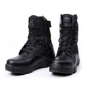 Leather Waterproof Desert Combat  Boot