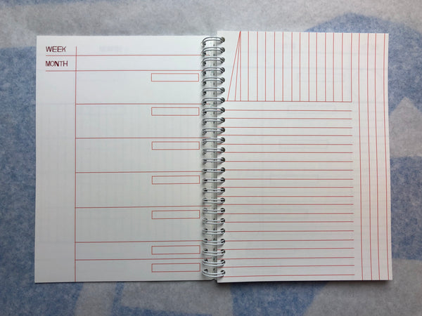 LIMITED OPEN PLANNER - SIX MONTHS