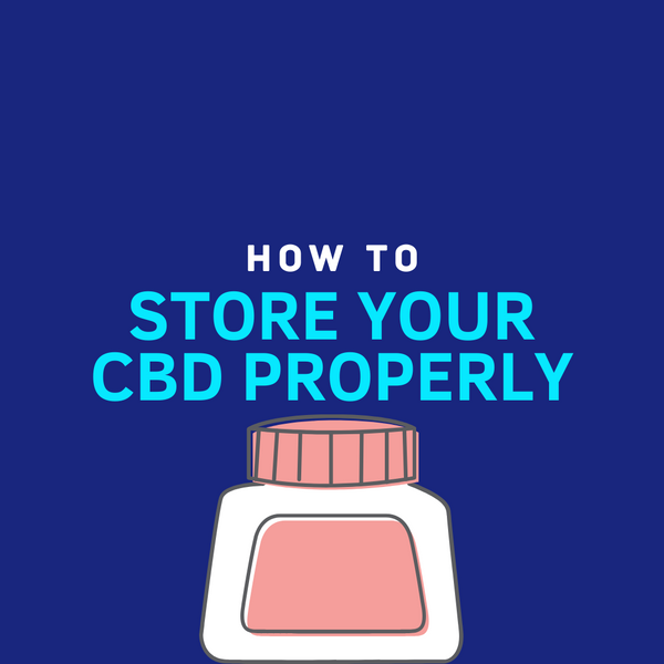 How To Store Your CBD? - Mint Wellness