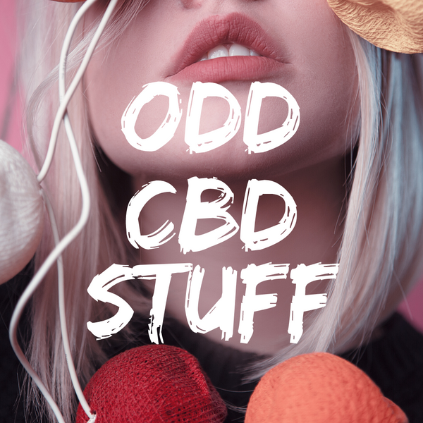 The Oddest CBD Products - Mint Wellness