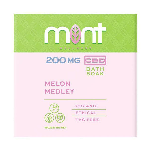 Melon Medley Bath Bomb - Mint Wellness