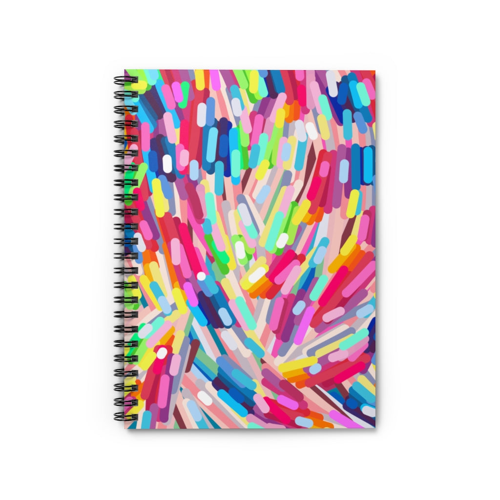 Spiral Notebook - Ruled Line Amelia