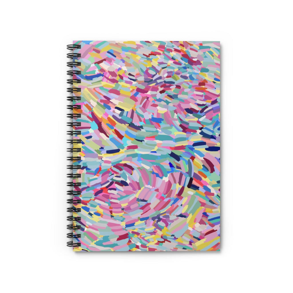 Spiral Notebook - Ruled Line Nicole