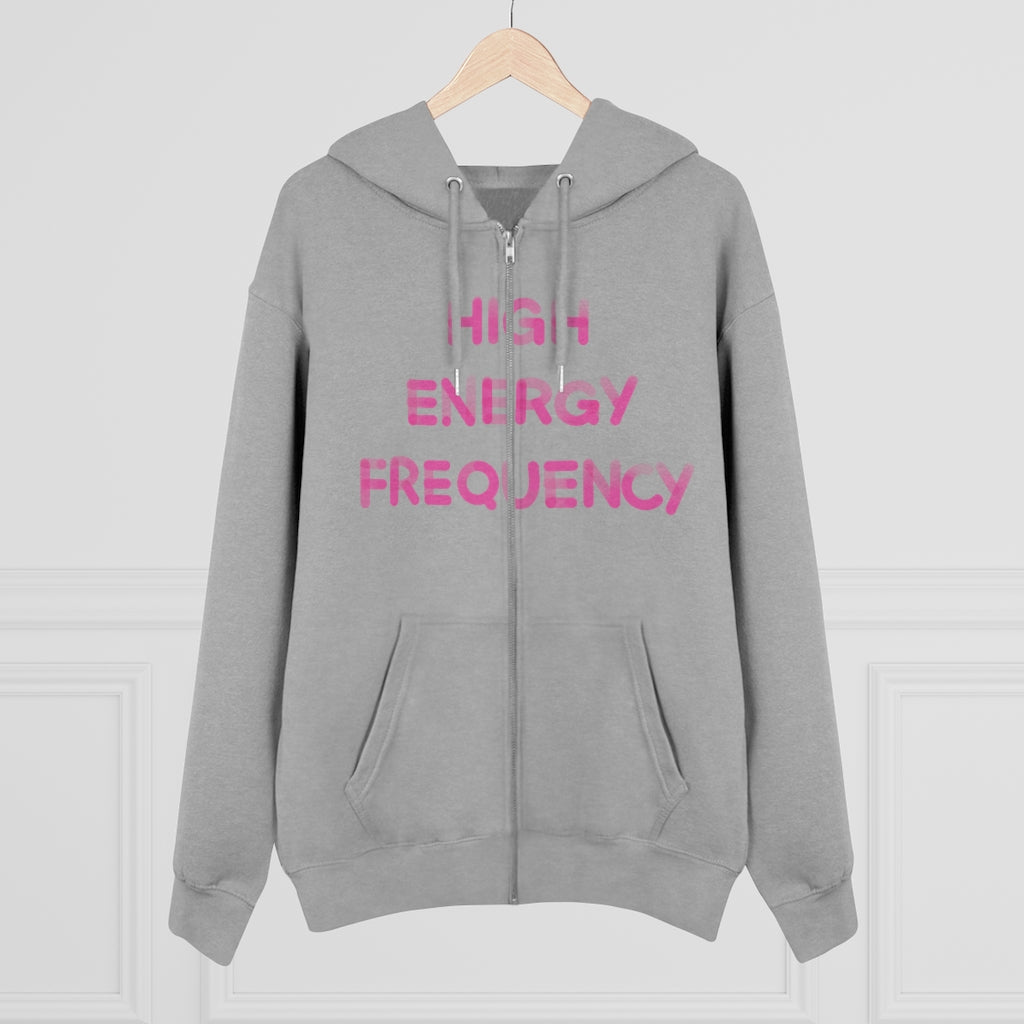 Zip Hoodie High Energy Frequency