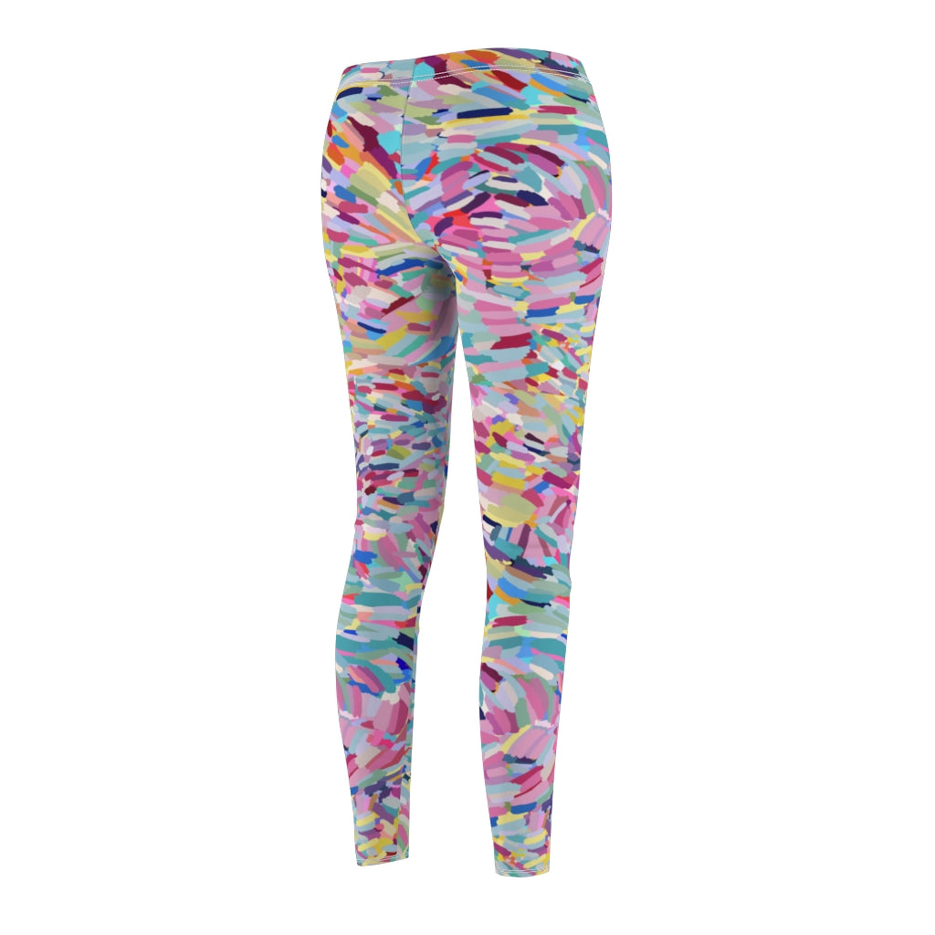 Women's Casual Leggings x Pastel Rainbow Studio