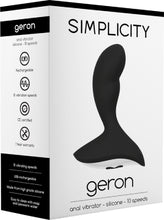 Load image into Gallery viewer, GERON Anal Vibrator