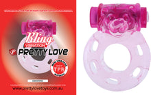 Load image into Gallery viewer, Vibrating Cock Ring (Pink)