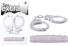 Load image into Gallery viewer, Metal Cuffs & Love Rope Kit Set