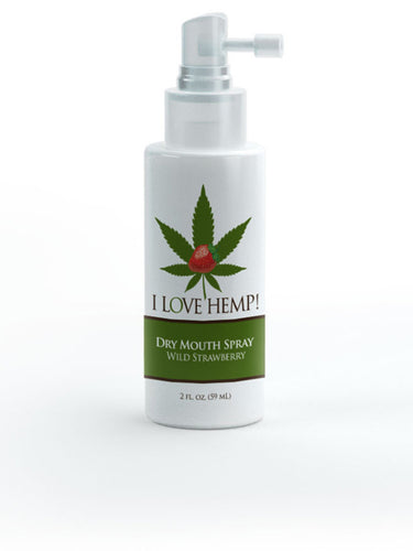 I Love Hemp Dry Mouth Spray Strawberry