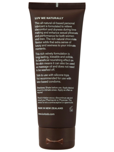 Luvloob Are You Keen Oil-Based 75ml Lubricant Chocolate