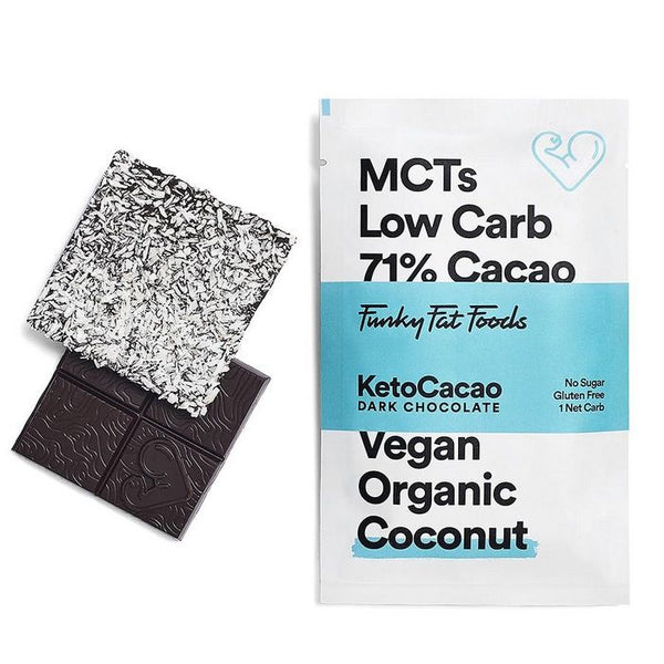 Funky Fat Foods KetoCacao Bar coconut 50 gram