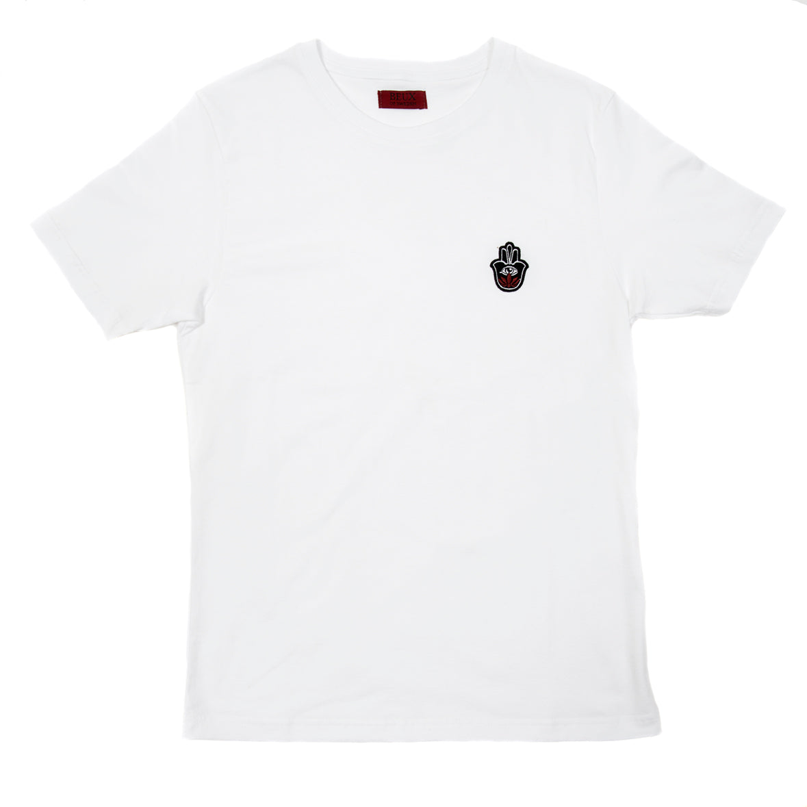 White T-Shirt with embroidered logo