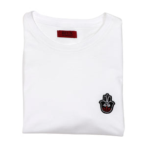 Folded White T-shirt