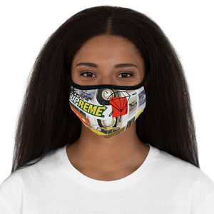 Multimedia Fitted Polyester Face Mask