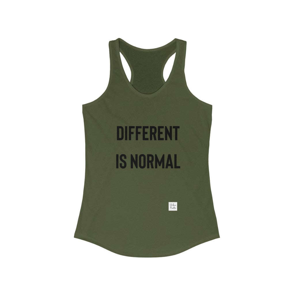 Different  Women's Ideal Racerback Tank