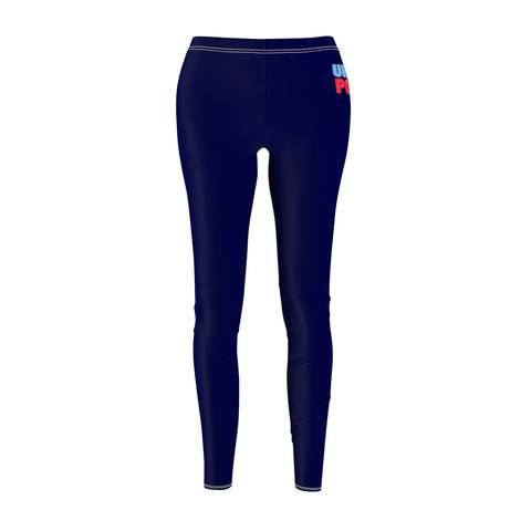 Navy Women's  Casual Leggings