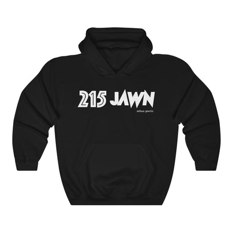 215 JAWN UNISEX HOODIE - LIMITED COLLECTION Blk