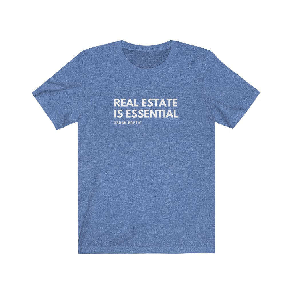 Real estate Unisex Jersey Short Sleeve Tee