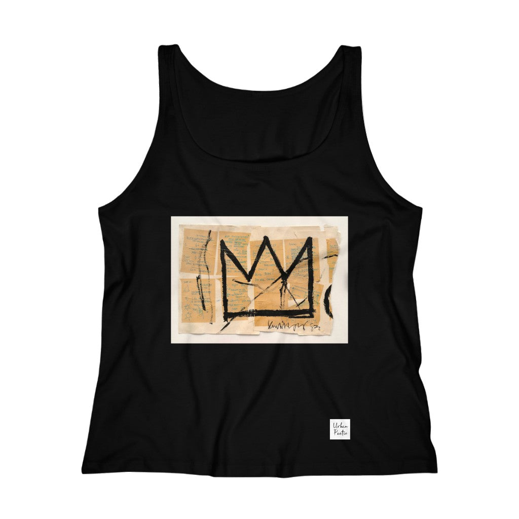 Crown  Women's Relaxed Jersey Tank Top