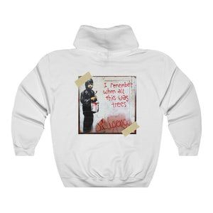 Remember the trees Unisex Heavy Blend™ Hooded Sweatshirt