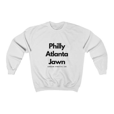 Philly Atlanta Jawn Sweatshirt-White